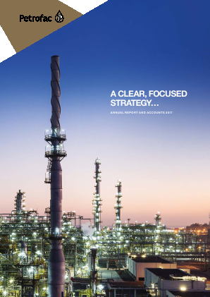 Petrofac annual report 2017