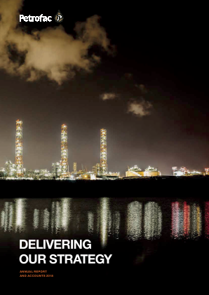 Petrofac annual report 2018