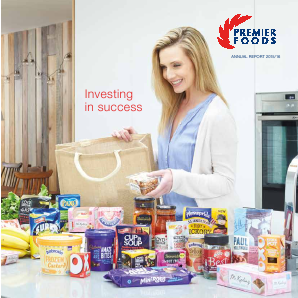 Premier Foods Plc annual report 2015