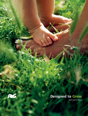Procter & Gamble annual report 2007