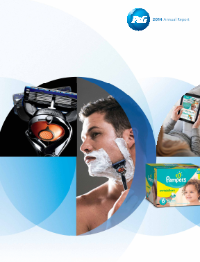 Procter & Gamble annual report 2014