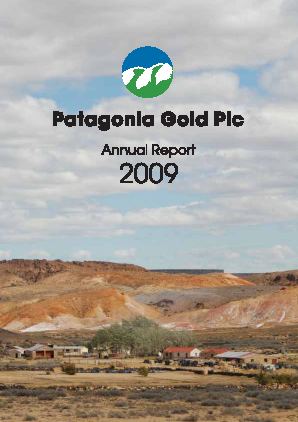 Patagonia Gold annual report 2009