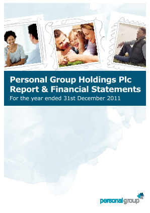 Personal Group Holdings annual report 2011