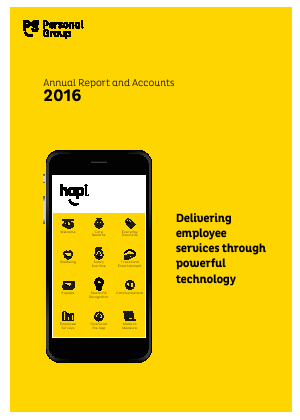 Personal Group Holdings annual report 2016