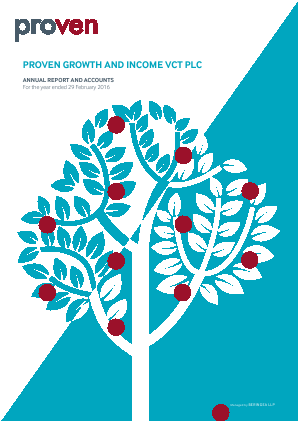 Proven Growth & Income VCT annual report 2016