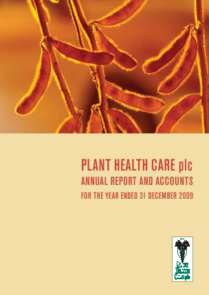 Plant Health Care annual report 2009