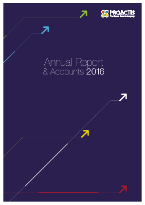 Proactis Holdings annual report 2016