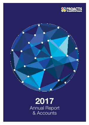 Proactis Holdings annual report 2017