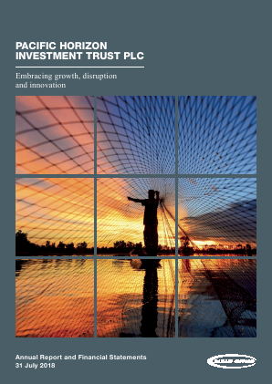 Pacific Horizon Investment Trust annual report 2018