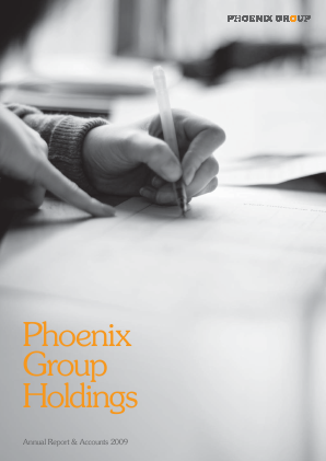 Phoenix Group Holdings annual report 2009