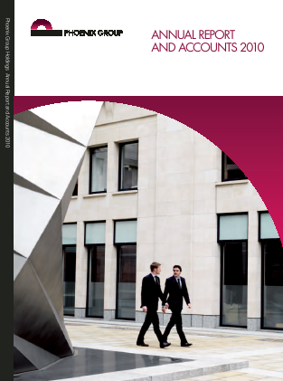Phoenix Group Holdings annual report 2010