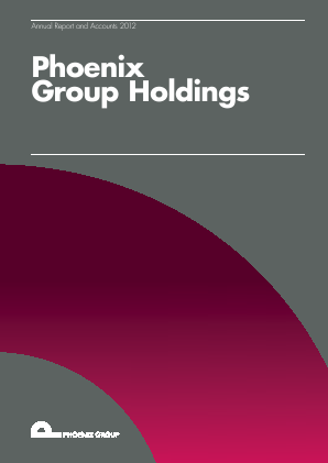Phoenix Group Holdings annual report 2012