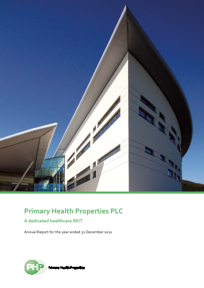 Primary Health Properties annual report 2011