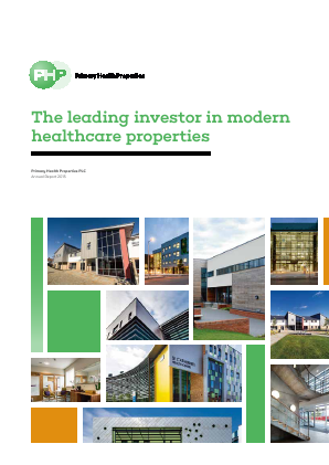 Primary Health Properties annual report 2015
