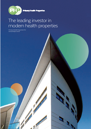 Primary Health Properties annual report 2016