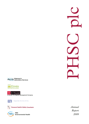 PHSC annual report 2009