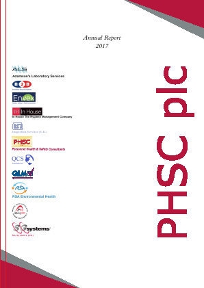 PHSC annual report 2017