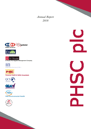 PHSC annual report 2018