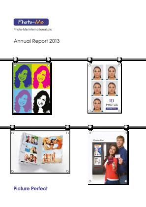 Photo-Me International annual report 2013