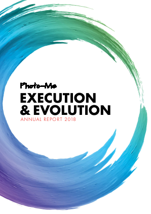 Photo-Me International annual report 2018