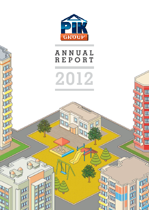 Pik Group PJSC annual report 2012