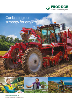 Produce Investments Plc annual report 2016