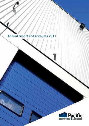 Urban Logistics REIT (previously Pacific Industrial and Logistics REIT) annual report 2017