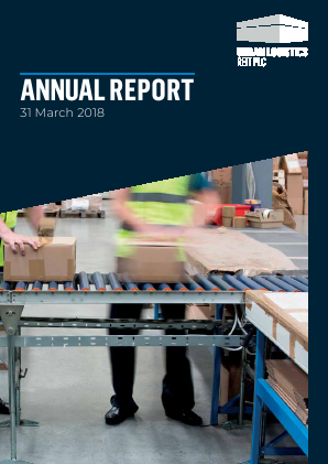 Urban Logistics REIT (previously Pacific Industrial and Logistics REIT) annual report 2018