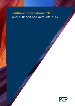 Pantheon International annual report 2016