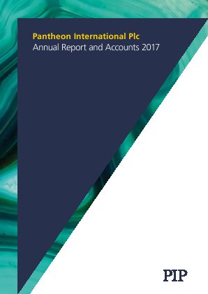 Pantheon International annual report 2017