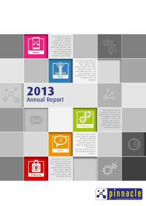 Adept4 (Previously Pinnacle Technology Group Plc annual report 2013