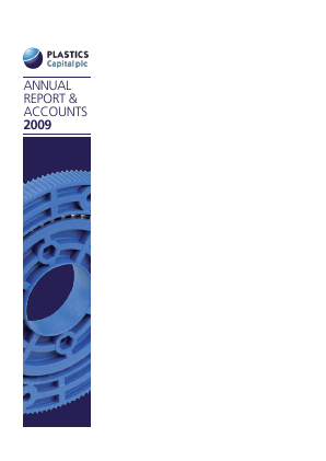 Plastics Capital Plc annual report 2009