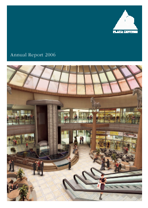 Plaza Centers NV annual report 2006