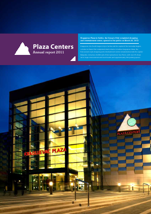 Plaza Centers NV annual report 2011