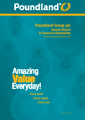 Poundland Group Plc annual report 2015