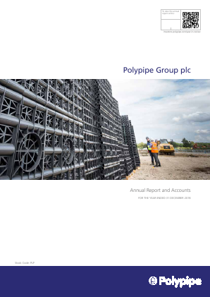 Polypipe Group Plc annual report 2018