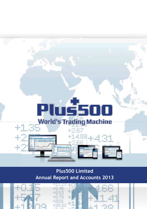 Plus500 annual report 2013