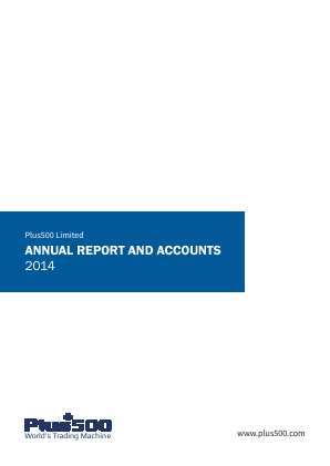 Plus500 annual report 2014