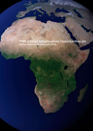 PME African Infrastructure Opp Plc annual report 2009