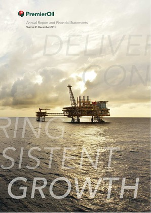 Premier Oil Plc annual report 2011
