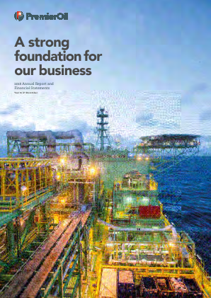 Premier Oil Plc annual report 2018