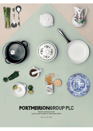 Portmeirion Group annual report 2014