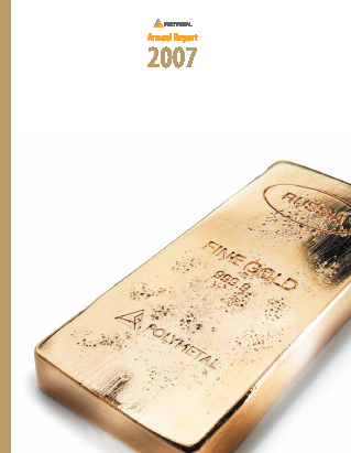 Polymetal International Plc annual report 2007