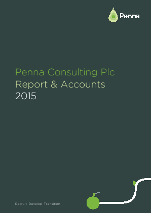Penna Consulting annual report 2015