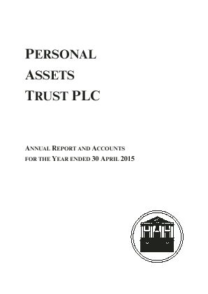 Personal Assets Trust annual report 2015