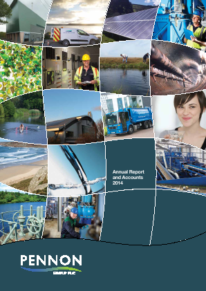 Pennon Group annual report 2014
