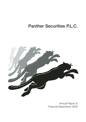 Panther Securities annual report 2005
