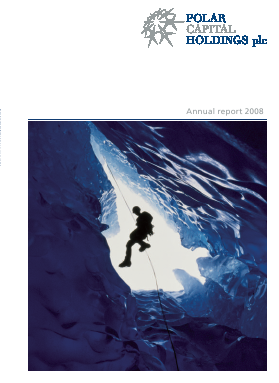 Polar Capital Holdings Plc annual report 2008