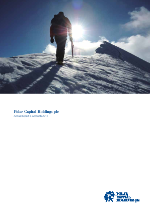 Polar Capital Holdings Plc annual report 2011