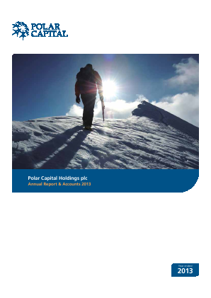 Polar Capital Holdings Plc annual report 2013